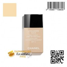Тональный флюид Chanel Vitalumiere Aqua Ultra-Light Skin Perfecting Makeup SPF 15
