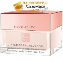 Крем для глаз Givenchy L'Intemporel Blossom Rosy Glow Highlight Care, 15 мл