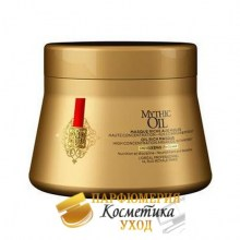 Маска для плотных аолос Loreal Mythic Oil Oil Rich Masque, 200 мл