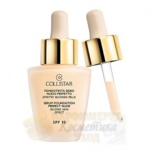 Collistar Serum Foundation Perfect Nude Second Skin Effect